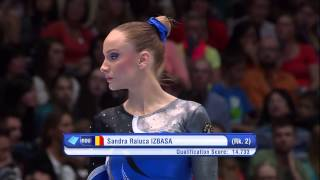 Gymnastics  World Championships 2013 FX EF