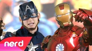 Captain America vs Iron Man Rap Battle | #NerdOut