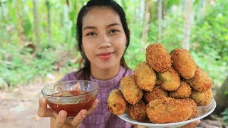 Yummy cooking egg kabab cake recipe - Cooking skill