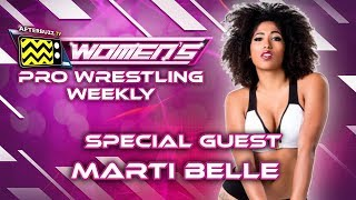 Marti Belle On If She Experiences Racial Bias In Pro Wrestling, Life After WWE Mae Young Classic