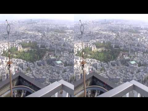 Paris, Tour Montparnasse - Montparnasse Tour 56th floor 3D