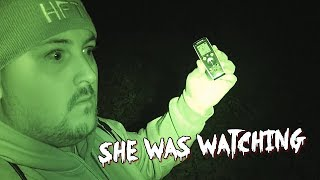 GHOST HUNTING AT HAUNTED WHITE LADY WOODS
