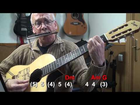 Nº 004 Wind Of Change( The Scorpions) Harmonica( C-G )TAB+CHORS Mundharmonika