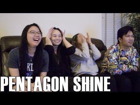 Pentagon (펜타곤)- Shine (Reaction Video)
