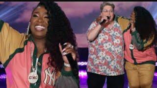 Missy Elliott and her Funky White Sister Meet on The Ellen Show