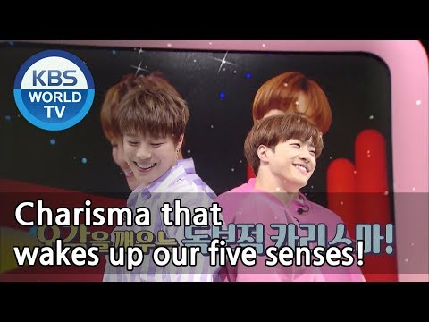 Fatal sexiness!! UNB!! ♪ Fill up your empty heart ♪ [Hello Counselor Sub : ENG,THA / 2018.04.30]