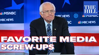 Our favorite media screw-ups: Sanders' camp says Fox's coverage fairer than MSNBC