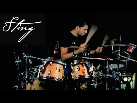 Sting - A Thousand Years - Drum Cover by Leandro Caldeira