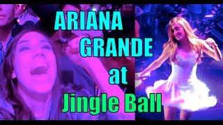 ARIANA GRANDE AT JINGLE BALL! | Vlogmas Day 6!