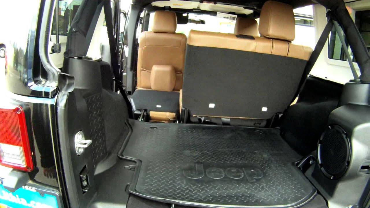Jeep jk cargo space #4