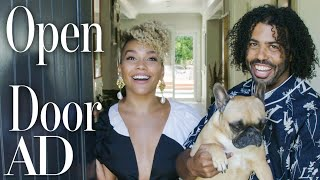 """Inside """"Hamilton"""" Stars Daveed Diggs & Emmy Raver-Lampman's L.A. Home 