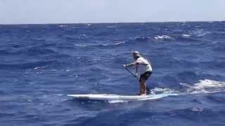 Josh Riccio, Molokai to Oahu on a Rogue SUP