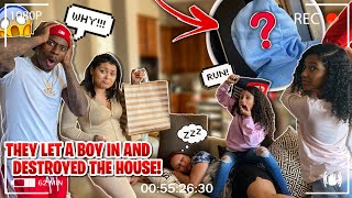 THE KIDS INVITED A BOY OVER! *THEY DESTROYED OUR HOUSE*