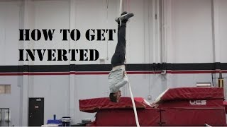 POLE VAULT HOW TO GET UPSIDE DOWN (INVERSION)   DRILLS AND TIPS