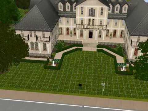 french quarter chateau sims 3 lots youtube. Black Bedroom Furniture Sets. Home Design Ideas