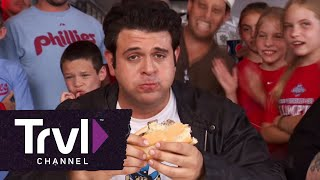 Man v. Food: Ultimate Cheesesteak Challenge