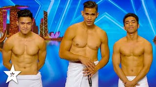 Crowd Goes WILD Over STRIPBOYS on Asia's Got Talent | Got Talent Global