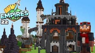 Empires SMP : STARTING MY MEGA BASE! Minecraft 1.17 Survival