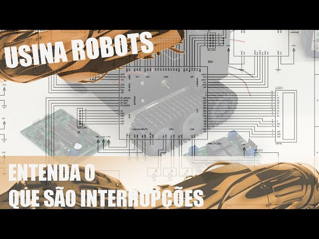 DEFINITIVO! ENTENDA AS INTERRUPÇÕES | Usina Robots US-2 #124