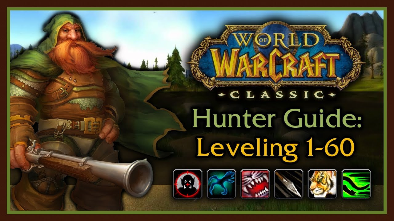 Classic WoW: Hunter Leveling Guide 2 0 (Pets, Talents, Rotation, Bow  Progression, Tips & Tricks)