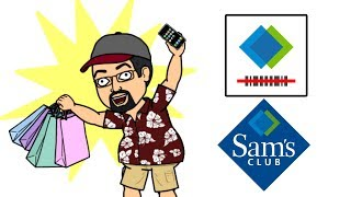 Scan & Go App from Sam's Club