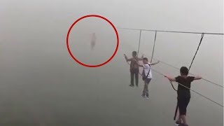 5 Mysterious And Weird Events Caught On Camera