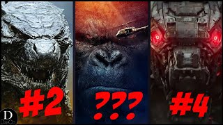 Godzilla VS Kong: Every Monster Ranked From Weakest to Strongest | DanCo