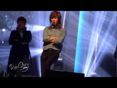 l2O325 ponytailed Taemin in his favorite blue shirt '$herl0ck' rehearsal fancam@0pen C0ncert
