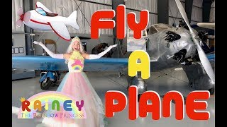 Airplanes for Kids | Letter P | Fly A Plane with Rainey the Rainbow Princess✈️👸🛩️