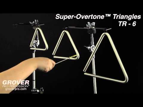 Grover Pro Super-Overtone™ Triangles