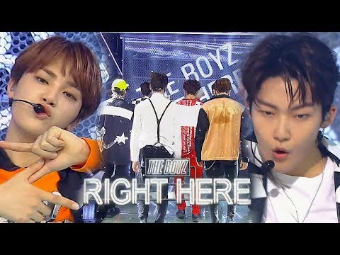 《Comeback Special》 THE BOYZ(더보이즈) - Right Here @인기가요 Inkigayo 20180909