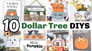 WOW!?! $1 DIY FALL DECOR CRAFTS | 🍁 BEST FALL DOLLAR TREE DIY DECOR IDEAS 2020 | Krafts by Katelyn