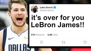 NBA Players Who Had Beef With Luka Doncic And Regretted It