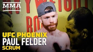 UFC Phoenix: Paul Felder Says Win Over James Vick Allows Him to Start Calling Out 'Cry Babies'
