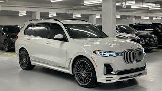 2021 BMW Alpina XB7 - Revs + Walkaround in 4k