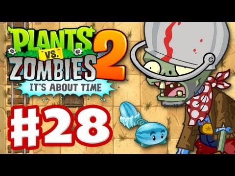Plants Vs. Zombies 2: It's About Time - Gameplay Walkthrough Part 28 - Wild West (iOS) - Smashpipe Games