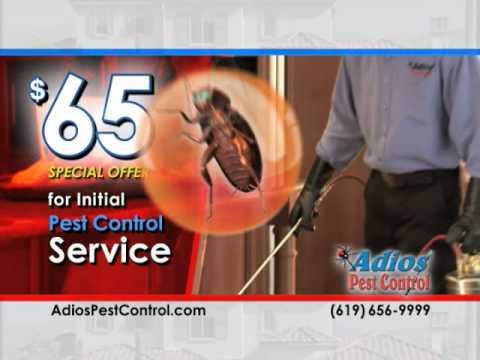 Adios Pest Control | SPECIAL | $65 Initial Visit