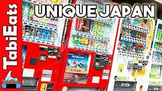 Japanese Vending Machines - Beer, Ice Cream and Snails?
