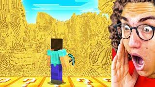 Opening 1,000 Lucky Blocks in Minecraft!