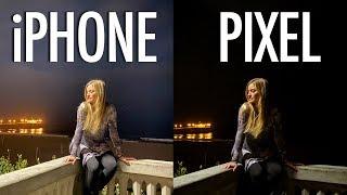 Night Mode: iPhone 11 Pro Max vs Pixel 3a XL!