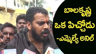 YSRCP Anil Kumar Yadav's serious Comments On Balakrishna..