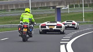 Dutch Cop Hates Lamborghini Murcielago LP640 w/ Straight Pipes Fi Exhaust