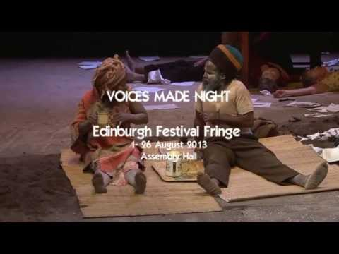 Magnet Theatre's Voices Made Night at Edinburgh Fringe Festival 2013