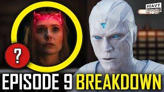 WANDAVISION Episode 9 Breakdown & Ending Explained Spoiler Review   Post Credits Scene & Easter Eggs