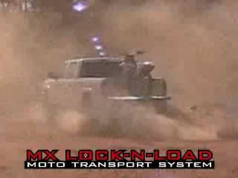 RIsk Racing Lock-N-Load Motocross Transport in a truck