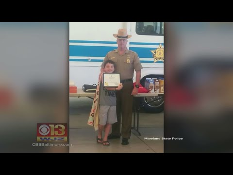 'Donut Boy' Comes To Md. To Deliver Treats To Harford Co. Officers