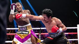 Pacquiao vs Broner FULL FIGHT: January 19, 2019 - PBC on Showtime