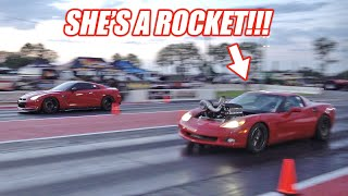 We Entered Ruby Into a ROLL RACE Competition To Test Her NEW Turbo System... HOLY FREEDOM!!!