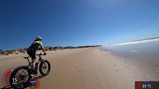60 Minute Ultimate Fat Burning Indoor Cycling Workout on the Beach 4K Garmin Video