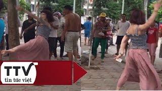 Tin Tức Việt | Cô gái trẻ nghi ngáo đá rồi nhảy múa điên loạn bên đường